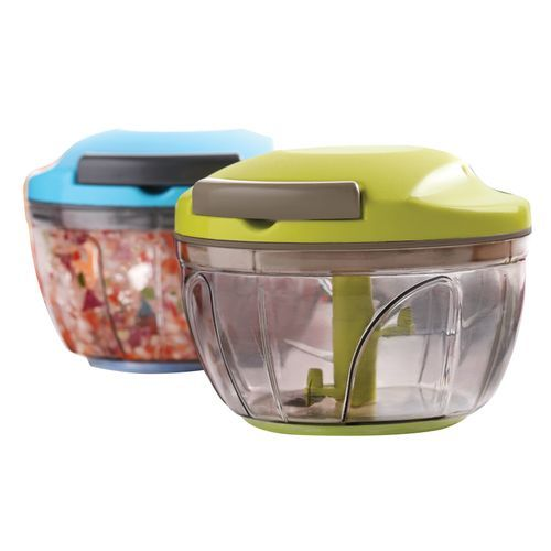 Mini Plastic Chopper with 3 Blades
