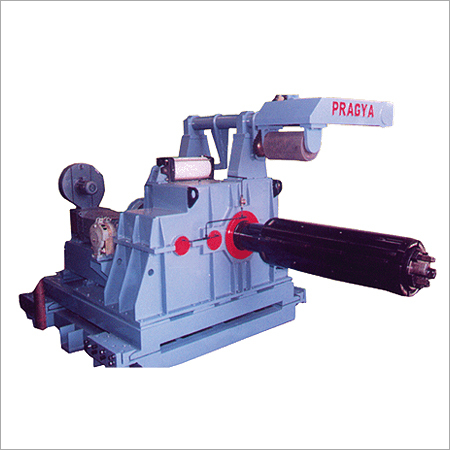 Uncoiler With Hydraulic Expand And Collapse