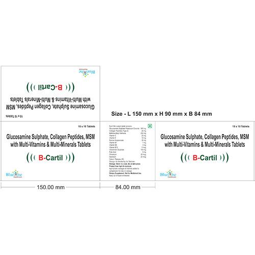 B-Cartil Carton Tablets