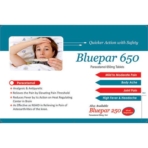 Bluepar 650 Tablets