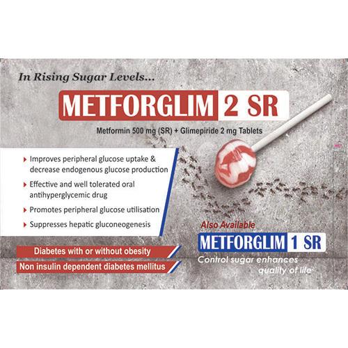 Metforglim 2SR Tablets