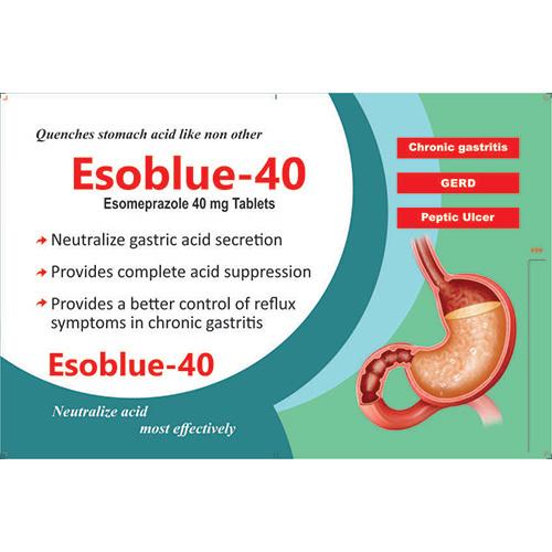 Esoblue-40 Tablets