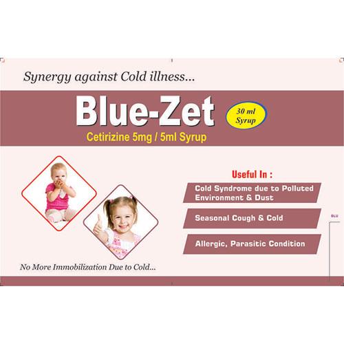 Blue-Zet Syrup