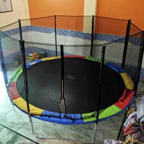 colored trampoline
