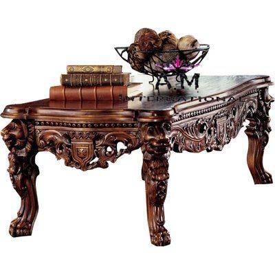 lion design center table
