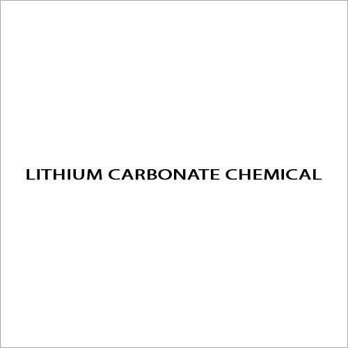 Lithium Carbonate Chemical