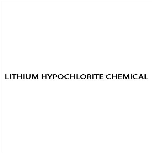 Lithium Hypochlorite Chemical