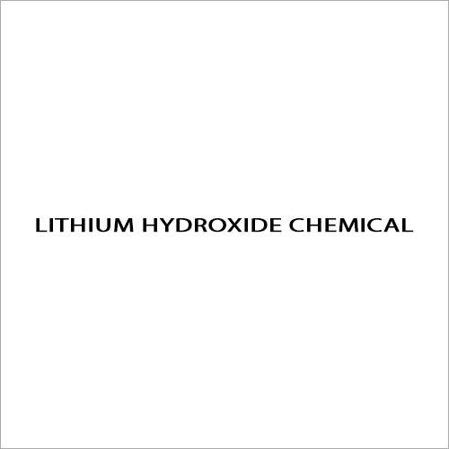 Lithium Hydroxide Chemical