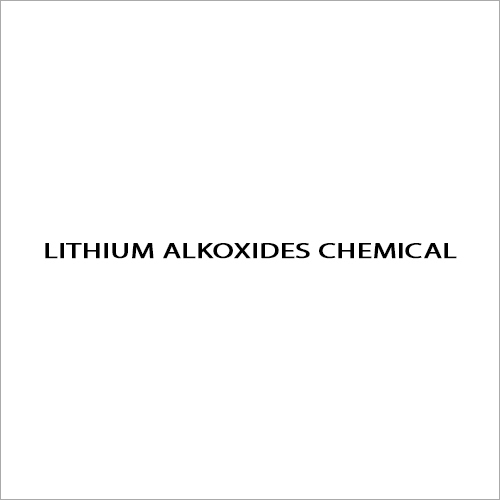 Lithium Alkoxides Chemical