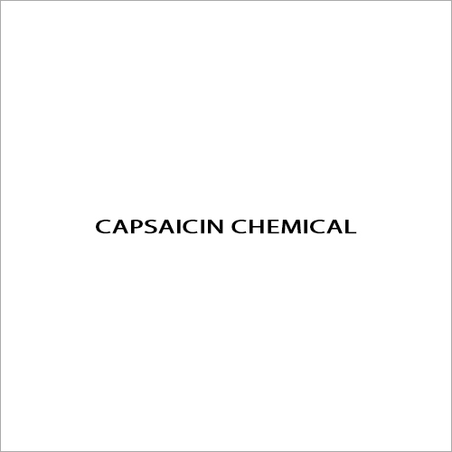 Capsaicin Chemical