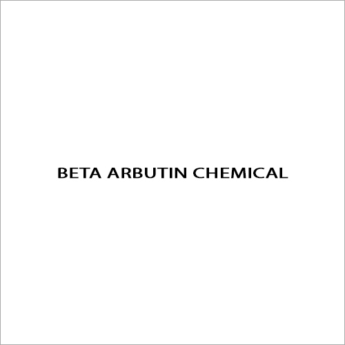 Beta Arbutin Chemical