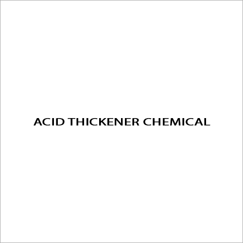 Acid Thickener Chemical
