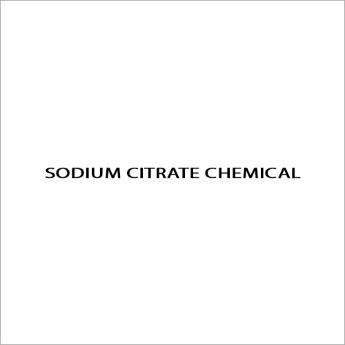 Sodium Citrate Chemical