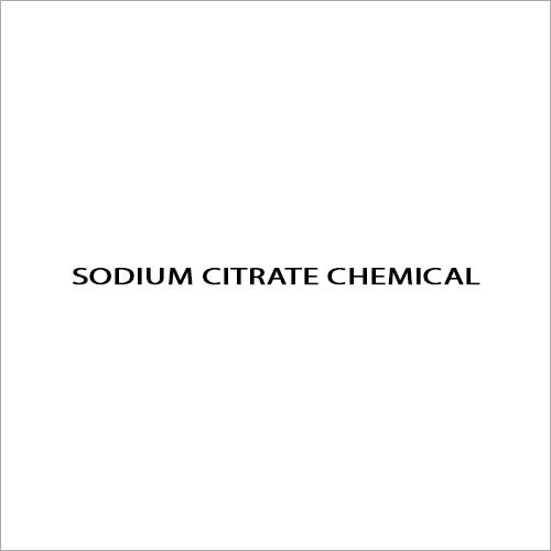 Sodium Citrate Chemical