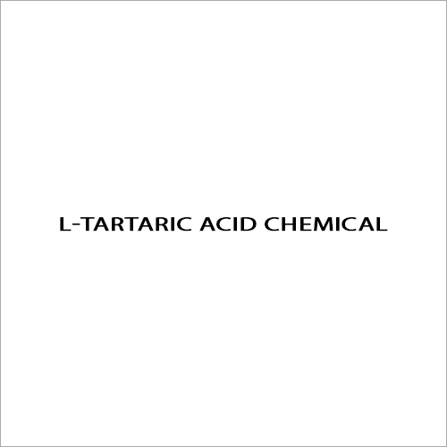 L-Tartaric Acid Chemical
