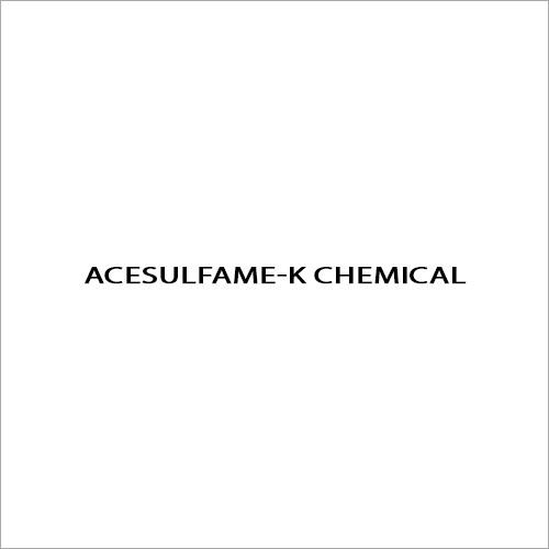 Acesulfame-K Chemical