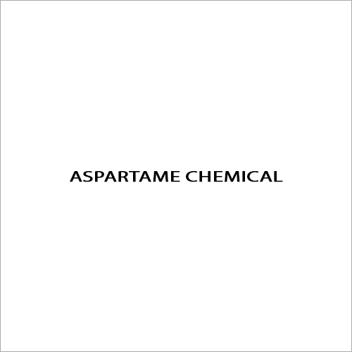 Aspartame Chemical