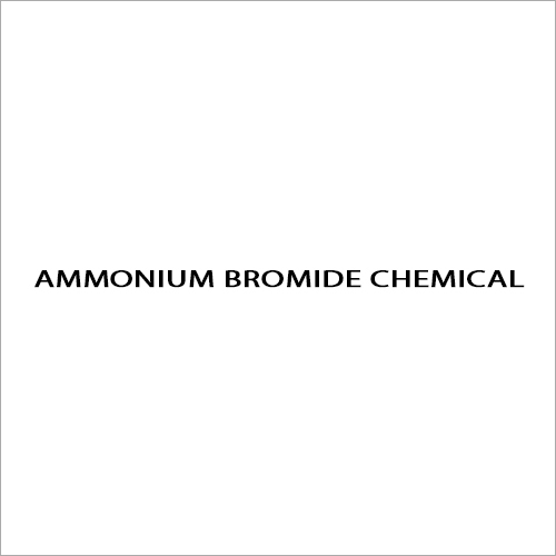 Ammonium Bromide Chemical