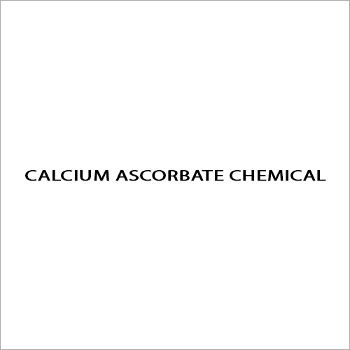 Calcium Ascorbate Chemical