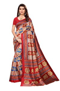 New bollywood designer kalamkari silk saree