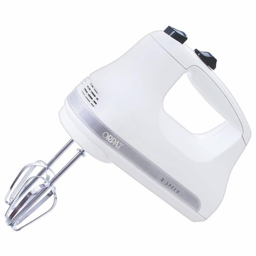 Orpat OHM-217 200-Watt Hand Mixer (White)