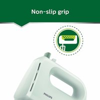 Philips HR3700/30 200-Watt Hand Mixer (Desert Green)