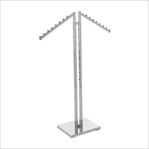 2 Way Clothing Rack Hanger Stand