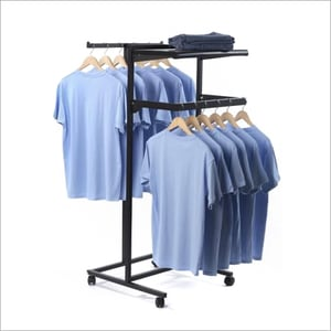 SS Cloth Hanger Stand