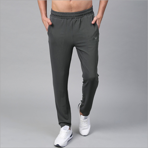 Mens Solid Grey Lower