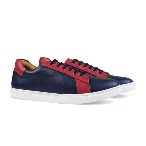 Mens Navy Blue Casual Sneaker