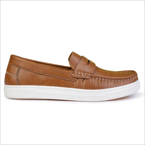 Mens Brown Sports Loafers