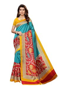 big border design kalamkari silk saree