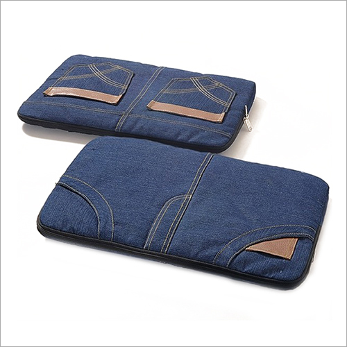 Jeans Fabric Laptop Bag