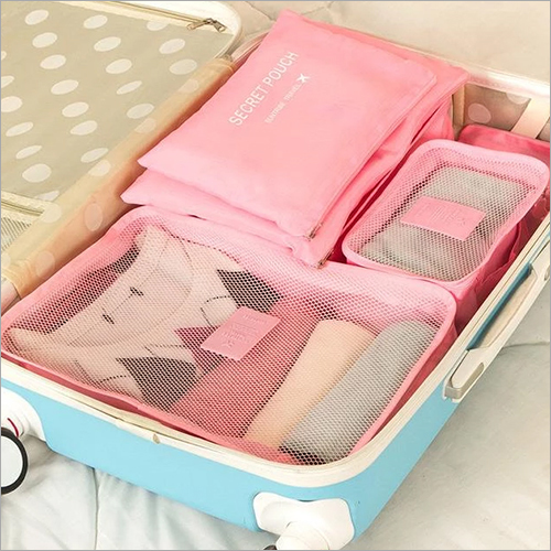 Baby Pink Travel Secret Pouch