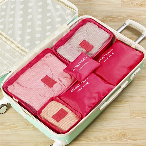 Pink Travel Secret Pouch