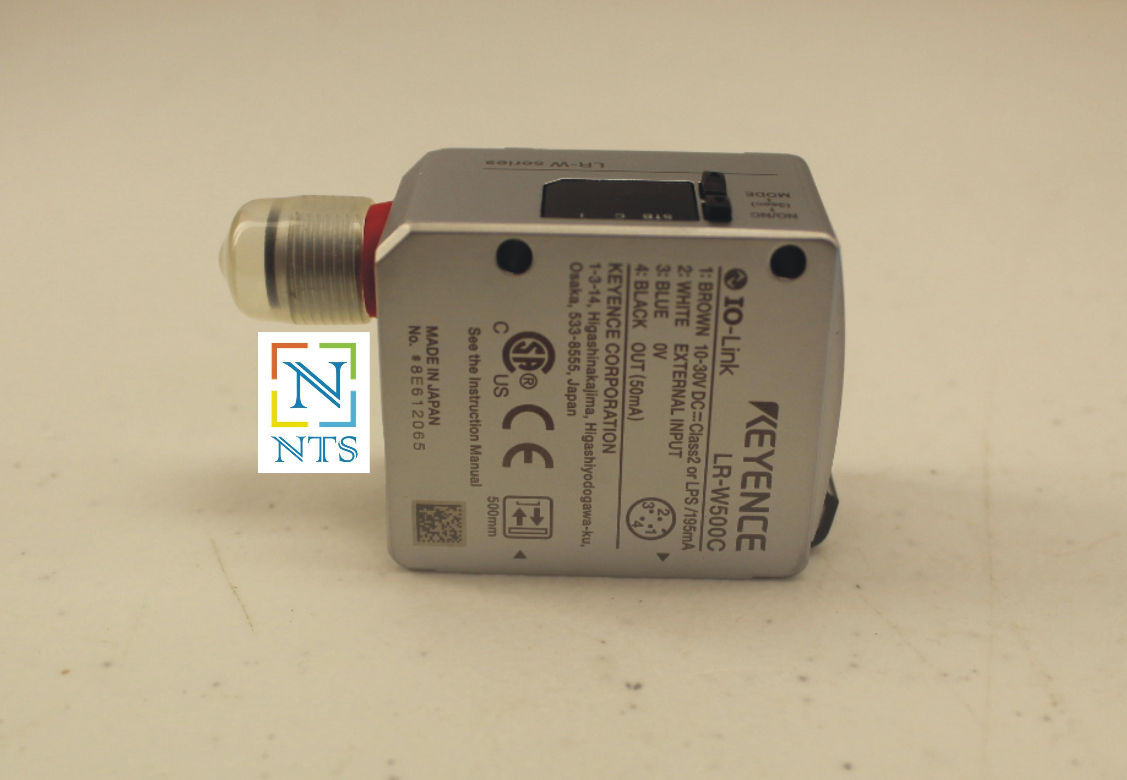 KEYENCE LR-W500C RGB Color Sensor