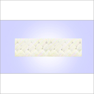 Expanded White PTFE Gland Packing Without Oil