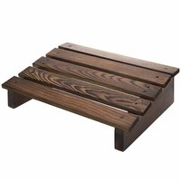 Natural Wood Office Under Table footrest Sanushaa