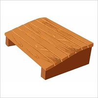 Natural Wood footrest for Office and Home Sanushaa