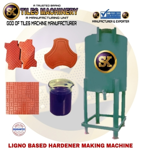Ligno Based Hardener Making Machine