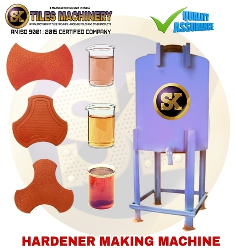 Paving Block Hardener Making Machine
