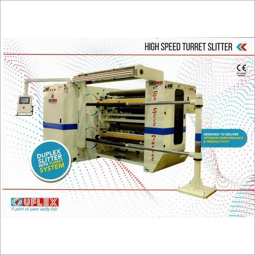 High Speed Turret Slitter