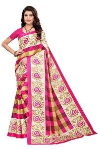 new checks print mysore kalamkari silk saree