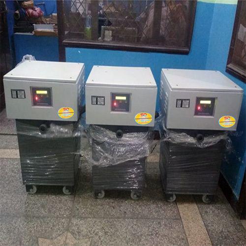 Single Phase Oil Cooled Servo Voltage Stabilizer ( Upto 50 KVA)