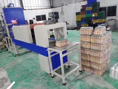 Juice Bottle Wrapping Machine