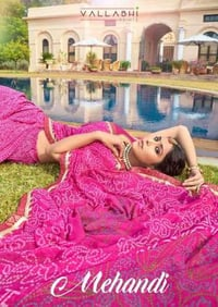 Georgette Sarees Festival Wear Printed