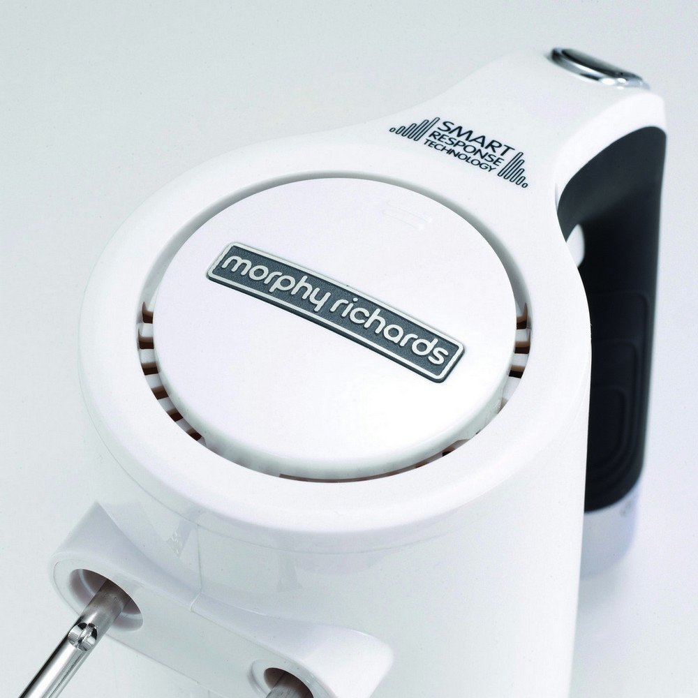 Morphy Richards Total Control 185-Watt Hand Mixer (White)