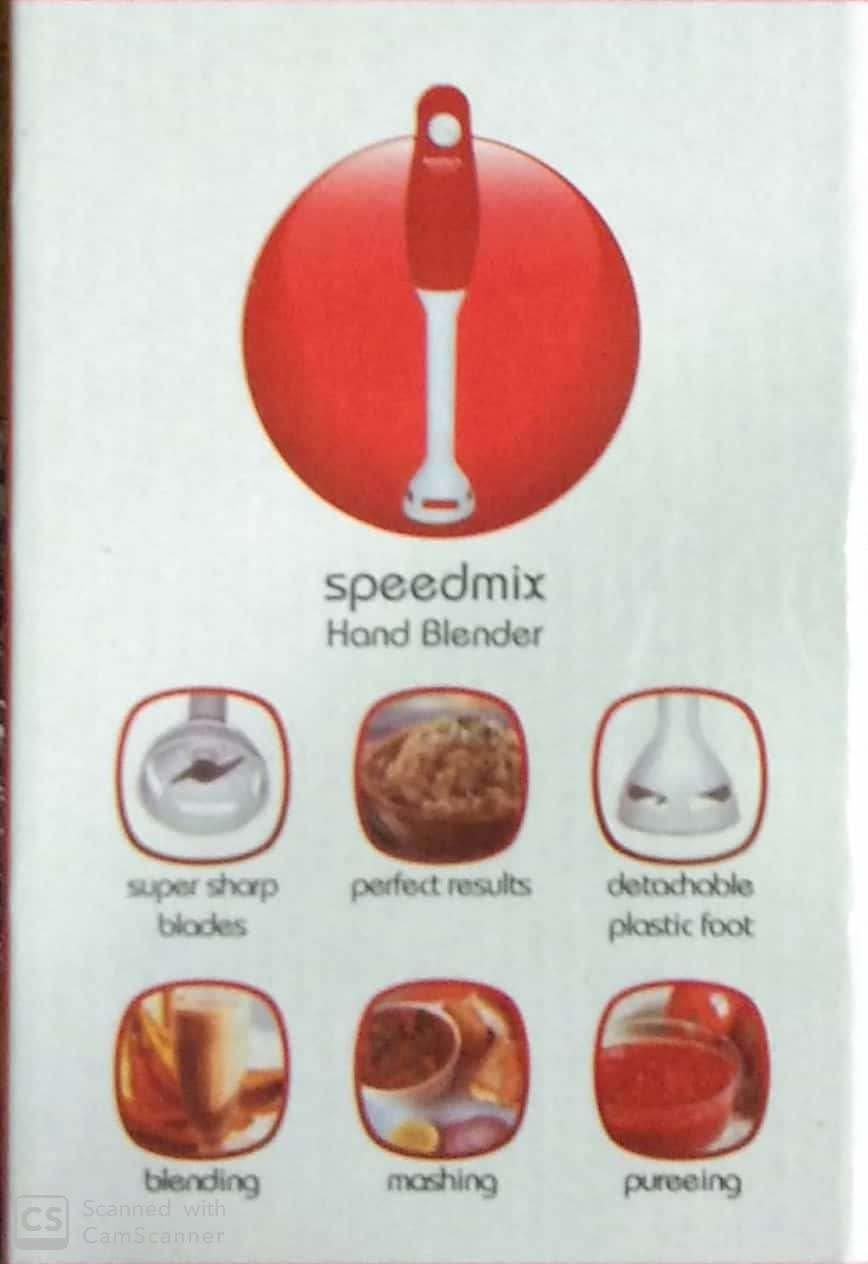 Maharaja Whiteline Speedmix Hand Blender