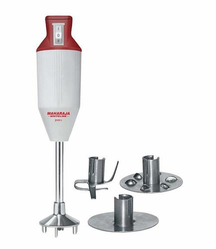 Maharaja Whiteline Jazz+ 125-Watt Handblender (White/Red)