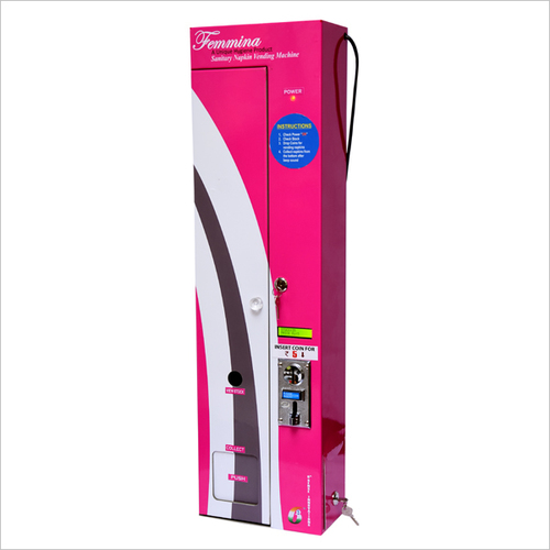 Femmina Data Retrieve Sanitary Napkin Vending Machine